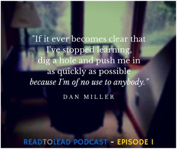 Dan Miller Quote